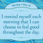 「気分」は自分で選べます。常に上機嫌が成熟した大人のマナー
