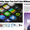 「これなしで生きていけない7つの生産性UPアプリ」をひとつしか持っていなくてちょっとビックリ