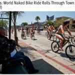 オールヌードで自転車こいで街をパレード。世界主要都市で開催されるエコ支援の活動