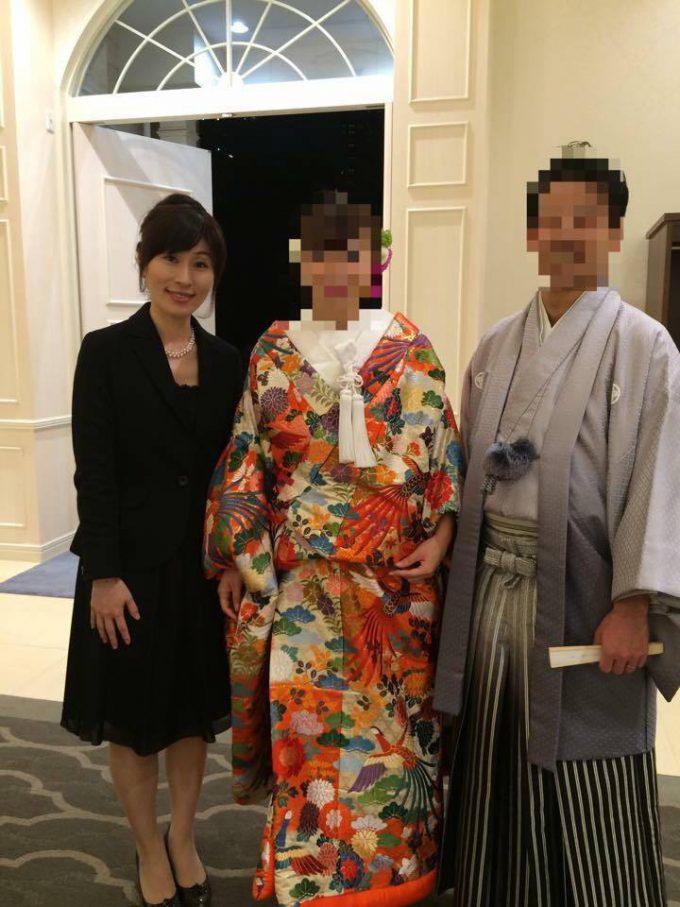 近藤祐子さん結婚式司会