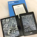 2017 Kindle Oasis キンドル・オアシスは史上最強! 画面が大きくてクリアで速い! しかも防水【レビュー】